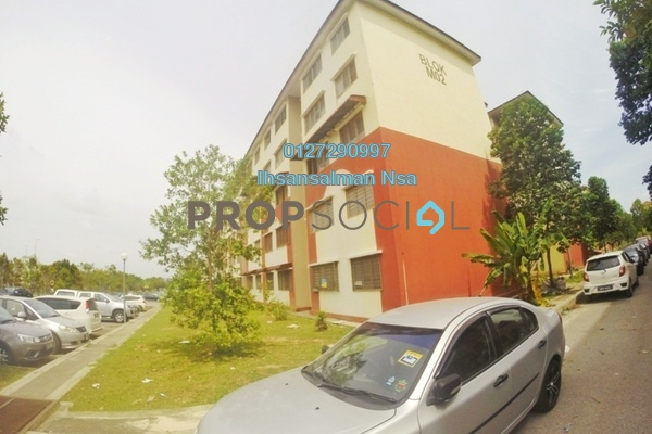 For Rent Apartment at Alam Perdana, Kuala Selangor Freehold Unfurnished 3R/1B 500translationmissing:en.pricing.unit