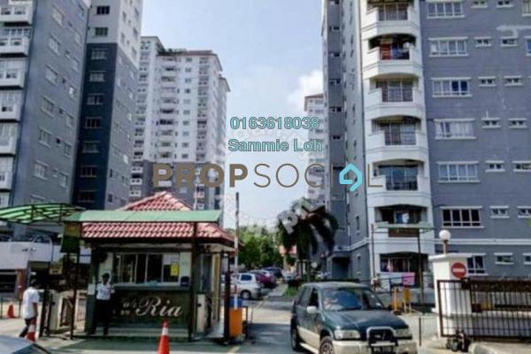 For Rent Condominium at Endah Ria, Sri Petaling Freehold Fully Furnished 4R/2B 2.2k