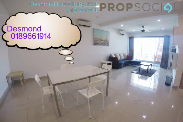 For Rent Condominium at Arte KL, Kuchai Lama Freehold Fully Furnished 4R/3B 2.7k