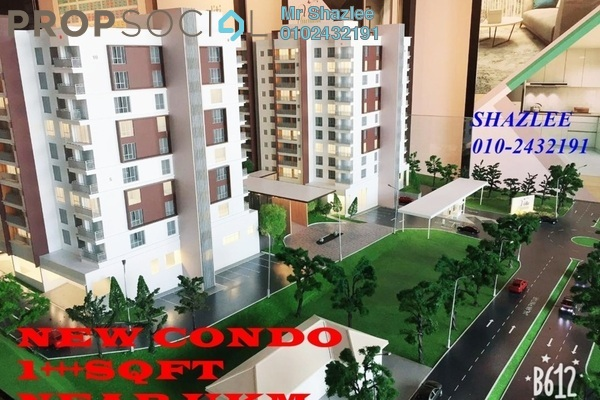 For Sale Condominium at Bangi Gateway, Bandar Baru Bangi Freehold Unfurnished 3R/2B 319k