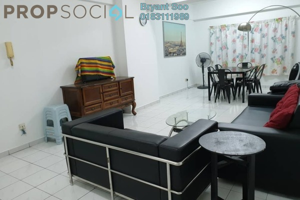 For Sale Condominium at Endah Regal, Sri Petaling Freehold Semi Furnished 3R/2B 360k