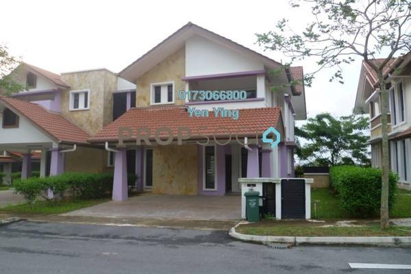 For Rent Semi-Detached at Precinct 15, Putrajaya Freehold Semi Furnished 4R/4B 3k