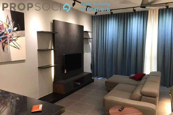 For Rent Condominium at Sentrio Suites, Desa Pandan Freehold Fully Furnished 1R/1B 2.2k