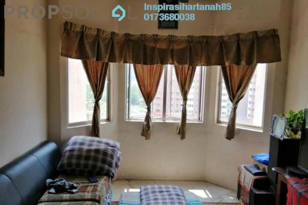 For Sale Apartment at Taman Desaminium, Bandar Putra Permai Freehold Fully Furnished 3R/2B 235k