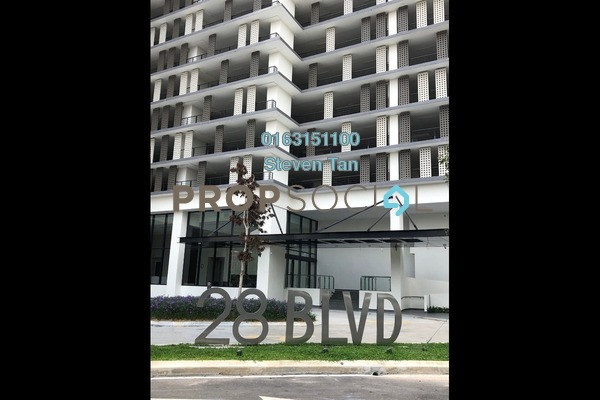 For Rent Serviced Residence at 28 Boulevard, Pandan Perdana Freehold Semi Furnished 1R/1B 1k