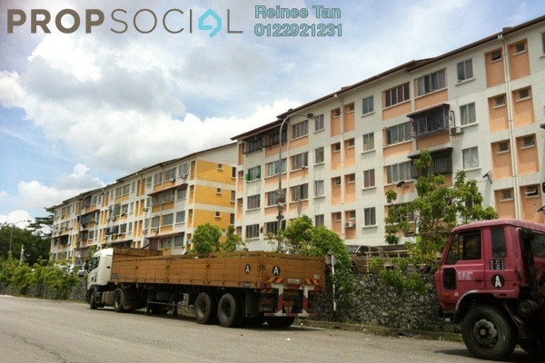 For Rent Apartment at Taman Impian Indah, Balakong Freehold Semi Furnished 3R/2B 1k