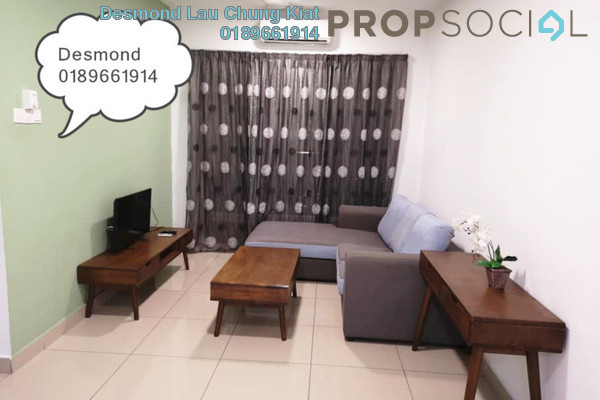 For Rent Condominium at KL Palace Court, Kuchai Lama Freehold Fully Furnished 2R/2B 1.8k
