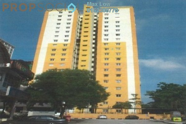 For Sale Apartment at Palm Garden Apartment, Klang Freehold Unfurnished 3R/2B 180k