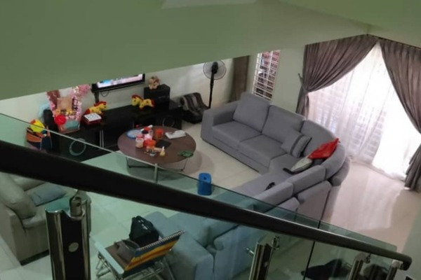 For Sale Terrace at Alam Sanctuary, Bandar Putra Permai Freehold Semi Furnished 5R/3B 855k