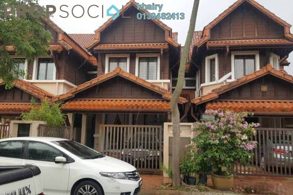For Sale Terrace at Damai Jasa, Alam Damai Freehold Semi Furnished 4R/3B 900k