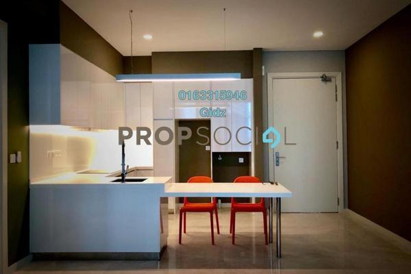 For Sale Serviced Residence at Vogue Suites One @ KL Eco City, Mid Valley City Freehold Semi Furnished 1R/1B 998k