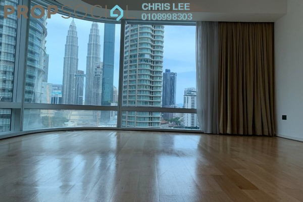 For Rent Condominium at The Avare, KLCC Freehold Semi Furnished 4R/5B 11k