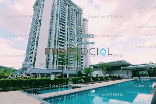 For Sale Condominium at Serin Residency, Cyberjaya Freehold Unfurnished 3R/3B 363k