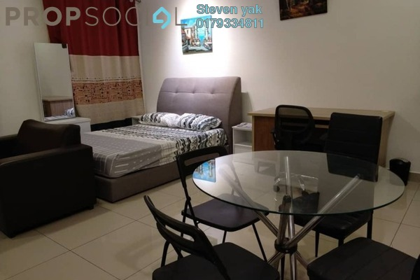 For Rent SoHo/Studio at CyberSquare, Cyberjaya Freehold Fully Furnished 1R/1B 1.25k