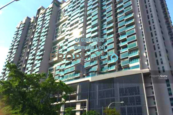 For Rent Condominium at The Leafz, Sungai Besi Freehold Fully Furnished 2R/2B 2.3k