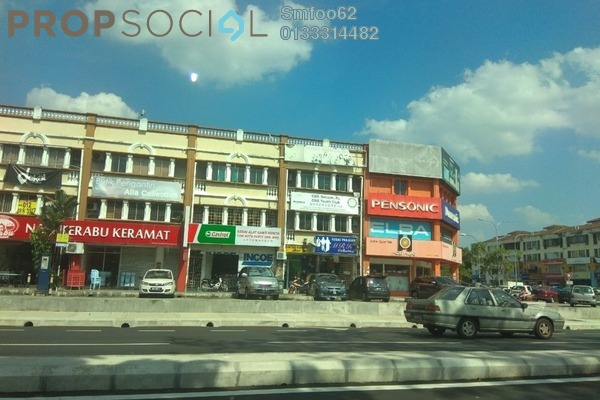 For Rent Office at Taman Sri Rampai, Setapak Freehold Unfurnished 0R/0B 1.2k