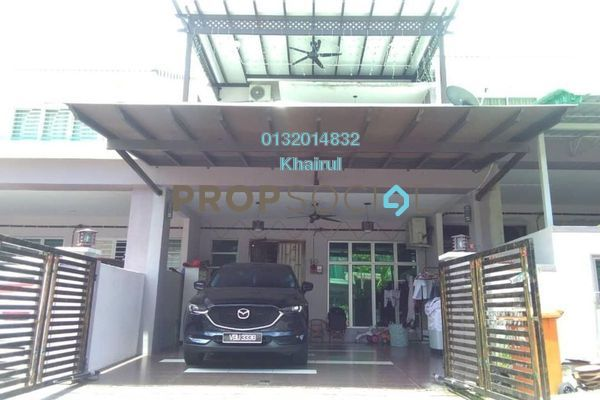 For Sale Terrace at Lavender Heights, Senawang Freehold Semi Furnished 4R/3B 470k