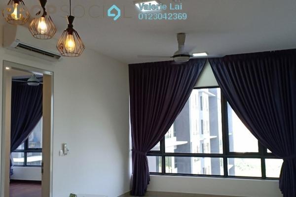 For Rent Serviced Residence at Paloma Serviced Residences, Subang Jaya Freehold Semi Furnished 2R/2B 1.6k