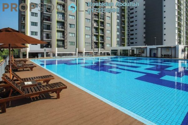 For Sale Serviced Residence at Residensi Alami, Shah Alam Freehold Semi Furnished 3R/2B 473k