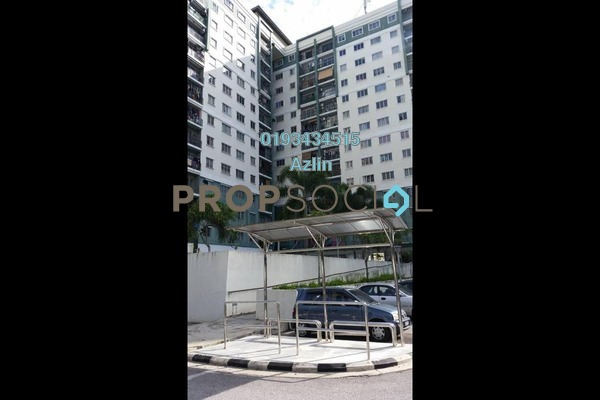 For Rent Apartment at Angsana Apartment, Batu Caves Freehold Semi Furnished 3R/2B 1.1k