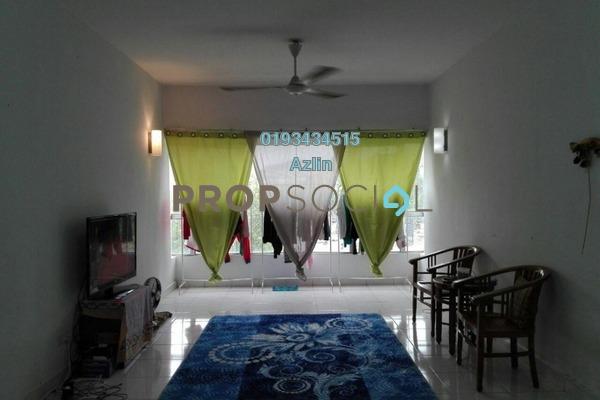 For Sale Apartment at Alpha Villa, Wangsa Maju Freehold Semi Furnished 3R/2B 420k