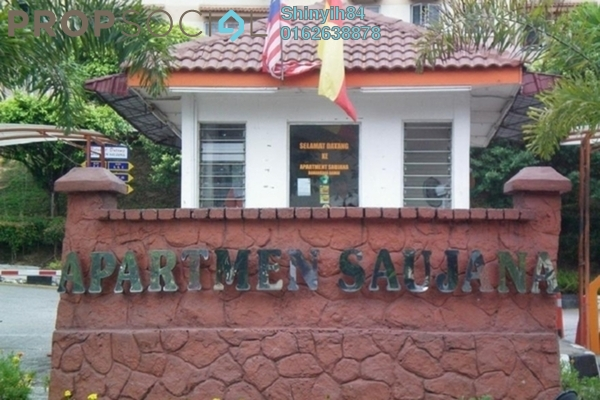 For Rent Apartment at Saujana Apartment, Damansara Damai Freehold Unfurnished 3R/2B 350translationmissing:en.pricing.unit