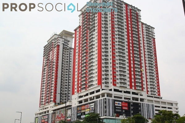 For Rent Condominium at Main Place Residence, UEP Subang Jaya Freehold Fully Furnished 2R/1B 1.6k