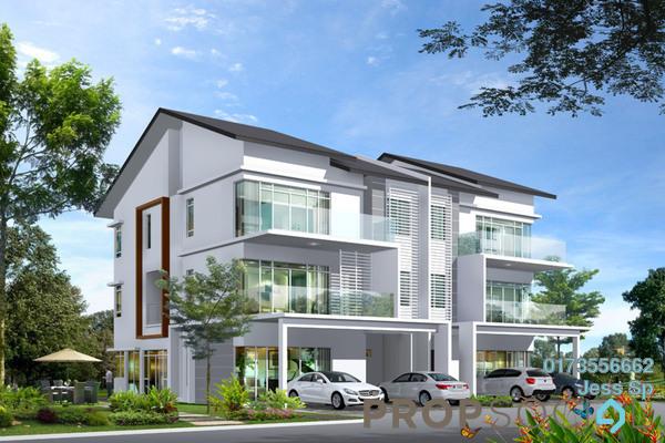 For Sale Semi-Detached at Saujana Impian, Kajang Freehold Unfurnished 6R/8B 1.3m