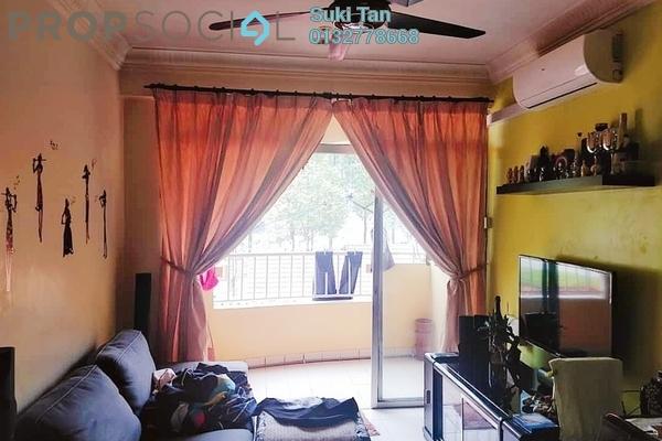 For Sale Apartment at Damansara Sutera, Kepong Freehold Semi Furnished 3R/2B 345k