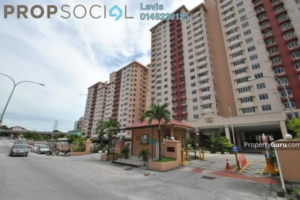 For Rent Condominium at Kelana Puteri, Kelana Jaya Freehold Semi Furnished 3R/2B 1.5k