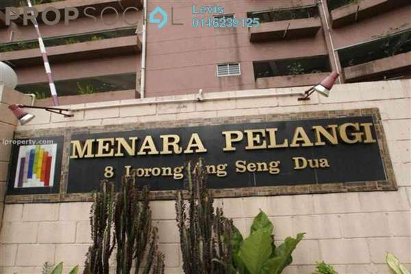 For Rent Apartment at Menara Pelangi, Brickfields Freehold Semi Furnished 3R/2B 2k