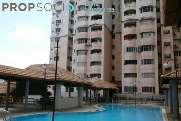 For Rent Condominium at BAM Villa, Cheras Freehold Semi Furnished 2R/2B 1.3k