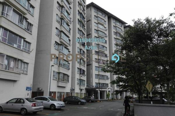For Sale Apartment at Alpha Villa, Wangsa Maju Freehold Semi Furnished 3R/2B 410k