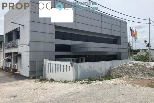 For Sale Factory at Canal Gardens, Kota Kemuning Freehold Semi Furnished 0R/0B 14m