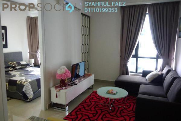 For Sale Condominium at Eclipse Residence @ Pan'gaea, Cyberjaya Freehold Fully Furnished 1R/1B 350k