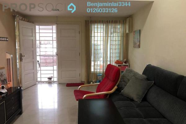 For Sale Terrace at Taman Ehsan, Kepong Freehold Semi Furnished 3R/2B 650k