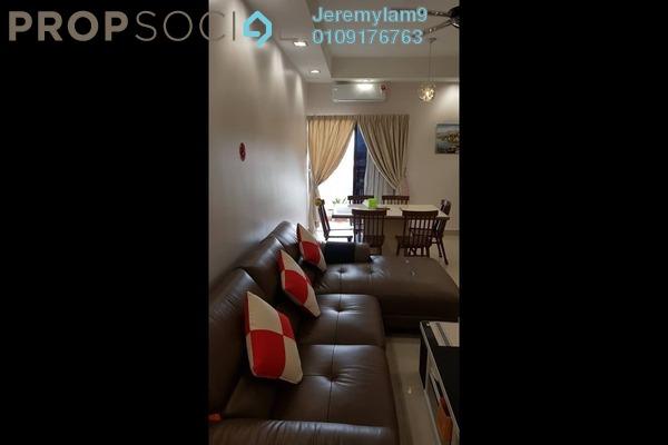 For Sale Condominium at Pelangi Utama, Bandar Utama Freehold Fully Furnished 3R/2B 650k