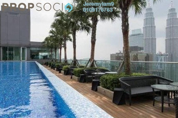For Rent Condominium at Soho Suites, KLCC Freehold Fully Furnished 3R/2B 4.3k