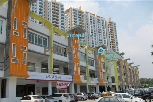 For Sale Shop at The Zest, Bandar Kinrara Freehold Unfurnished 0R/0B 750k