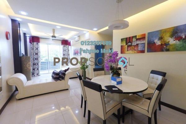 For Sale Condominium at Panorama Residences, Sentul Freehold Semi Furnished 3R/2B 495k