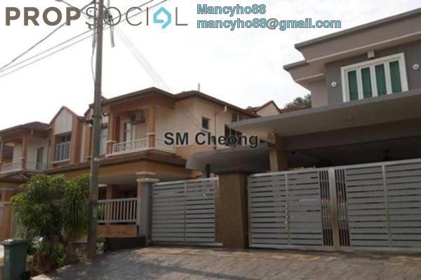 For Rent Terrace at Taman Puncak Jalil, Bandar Putra Permai Freehold Fully Furnished 5R/4B 1.6k