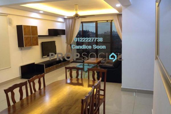 For Rent Condominium at Rivercity, Sentul Freehold Fully Furnished 3R/2B 2.55k