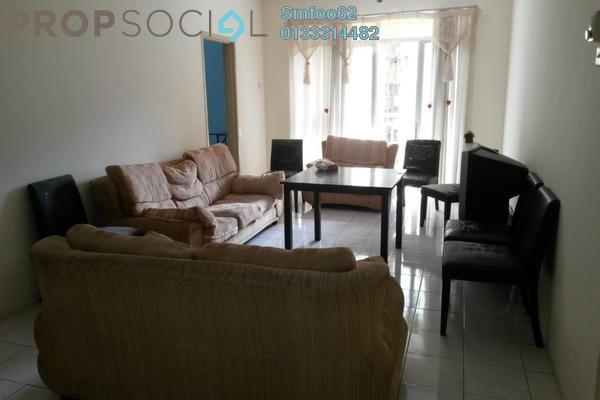 For Sale Condominium at Platinum Hill PV3, Setapak Freehold Semi Furnished 4R/2B 380k