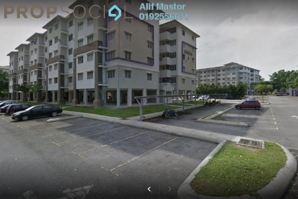 For Sale Condominium at Seroja Apartment, Setia Alam Freehold Unfurnished 3R/2B 215k