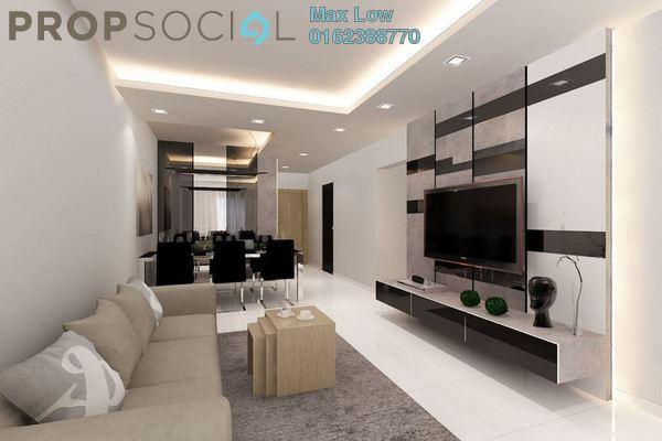 For Sale Condominium at BRP 7, Bukit Rahman Putra Freehold Semi Furnished 3R/2B 380k