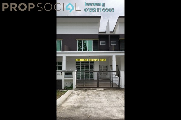 For Sale Terrace at Taman Banting Baru, Banting Freehold Unfurnished 4R/3B 350k
