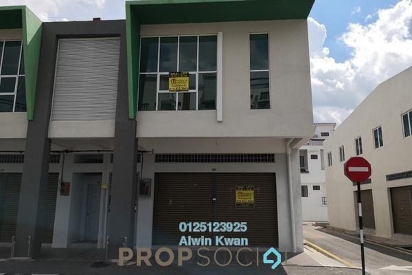 For Rent Shop at Panorama Lapangan Perdana, Ipoh Freehold Unfurnished 0R/4B 1.8k