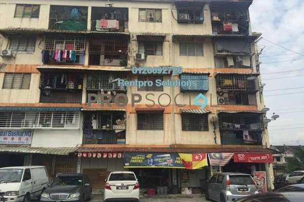 For Sale Apartment at Taman Nirwana, Ampang Freehold Semi Furnished 3R/1B 185k