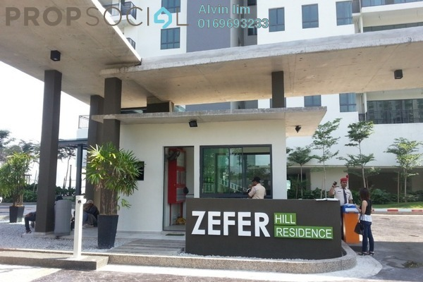 For Rent Condominium at Zefer Hill Residence, Bandar Puchong Jaya Freehold Fully Furnished 4R/2B 2.2k