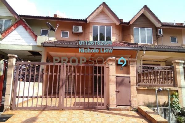 For Sale Link at Saujana Impian, Kajang Freehold Semi Furnished 4R/3B 418k